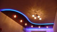 Многоуровневые натяжные потолки (фото)