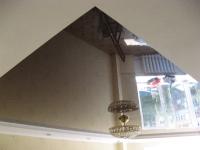 Глянцевые натяжные потолки  (фото)