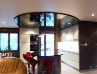 сатиновый натяжной потолок фото_3
