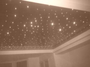 Натяжные потолки звездное небо в квартире