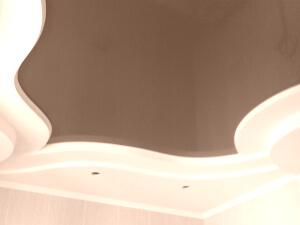 Натяжные потолки в квартире киев